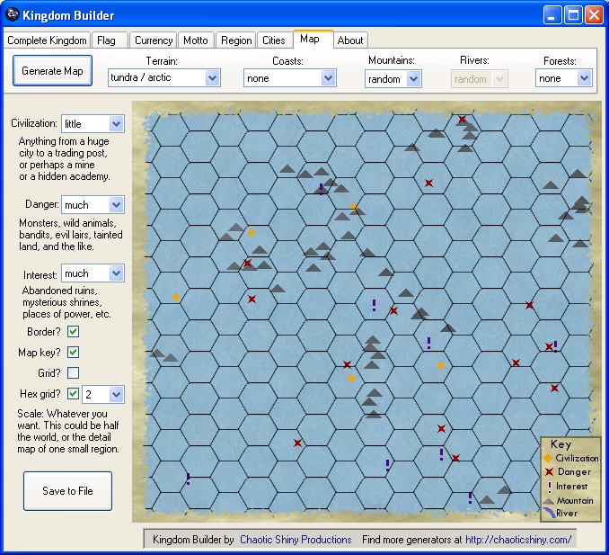 kingdom builder map generator screenshot
